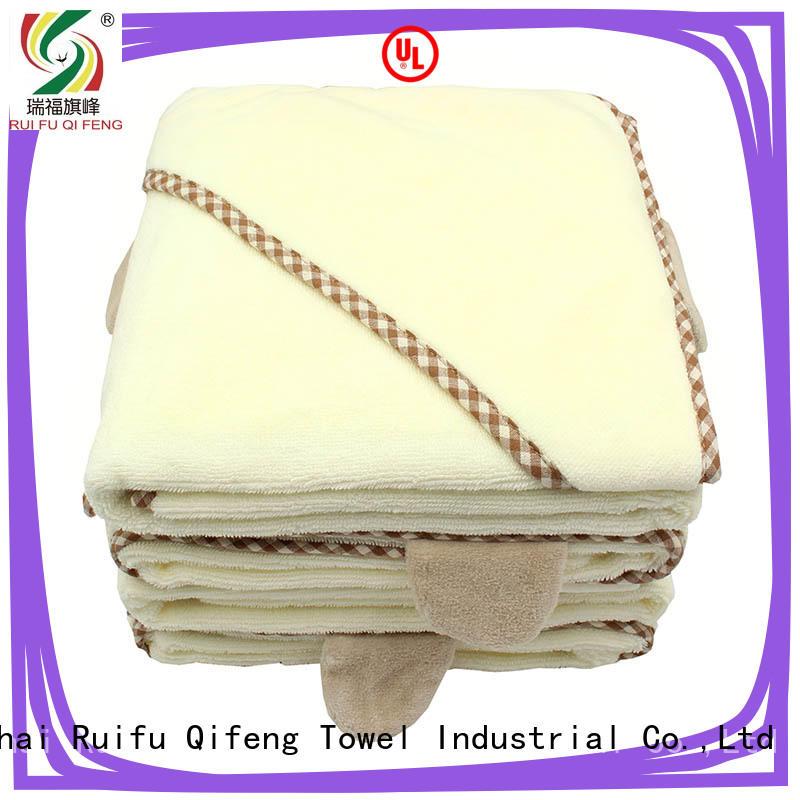 Ruifu Qifeng comfortable newborn baby towel promotion for hospital