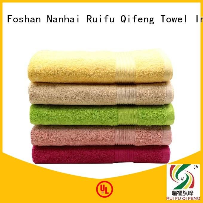 Ruifu Qifeng good quality extra large beach towels directly price for swimming