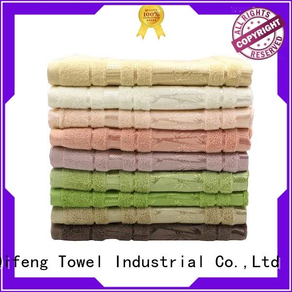 hand shower towel dyed sets for restaurant