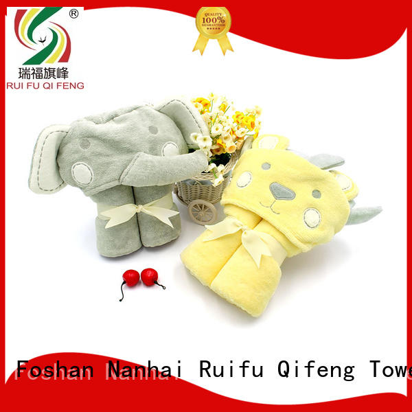 Ruifu Qifeng customized newborn baby towel supplier for kindergarden