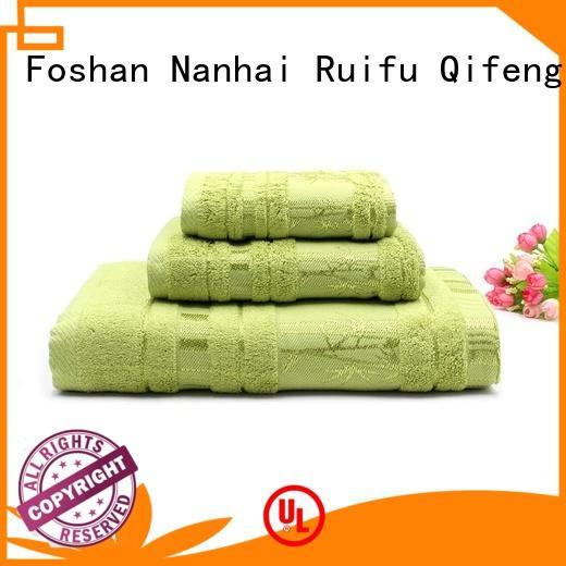 Ruifu Qifeng customized towel set series on sale for club