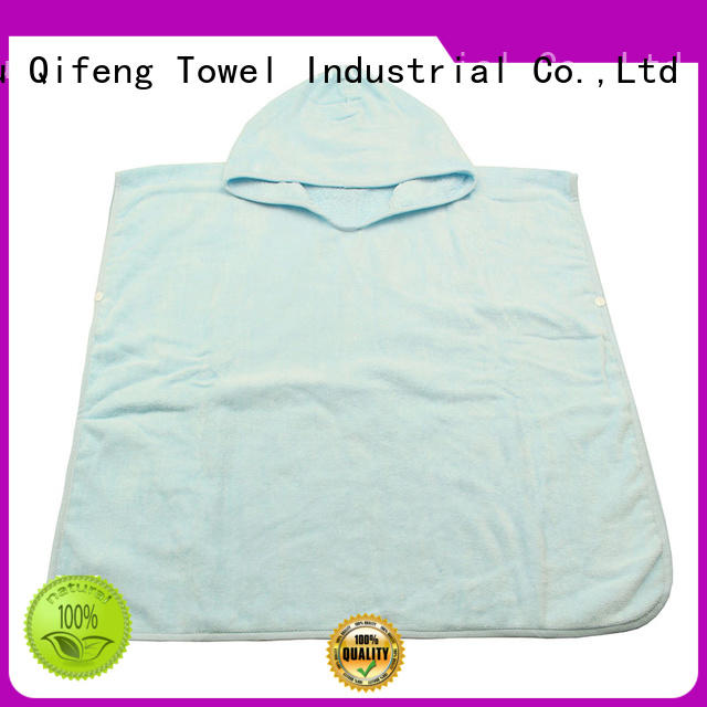 safe organic bamboo baby towels qf022b828 supplier for home