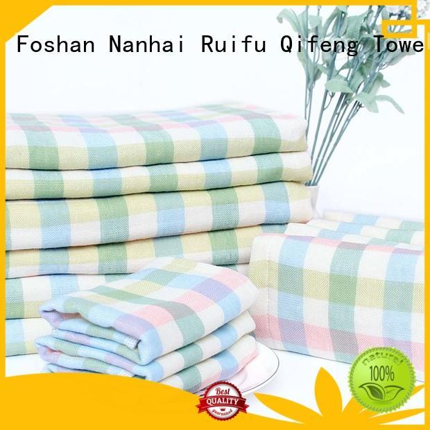 Ruifu Qifeng soft soft baby towels manufacturer for kindergarden