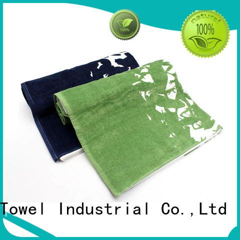 large bath towels dobby for restaurant Ruifu Qifeng