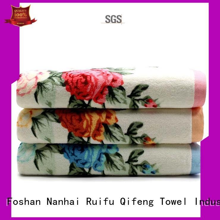 Ruifu Qifeng gsm bamboo towel set supplier for hospital
