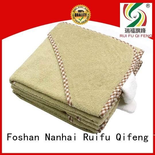 Ruifu Qifeng natural baby towel series promotion for hospital