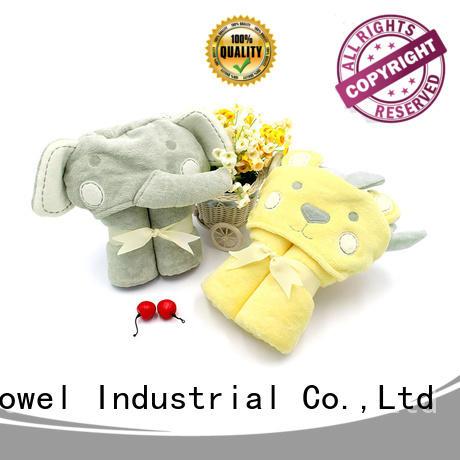 Ruifu Qifeng safe organic bamboo baby towels design for home