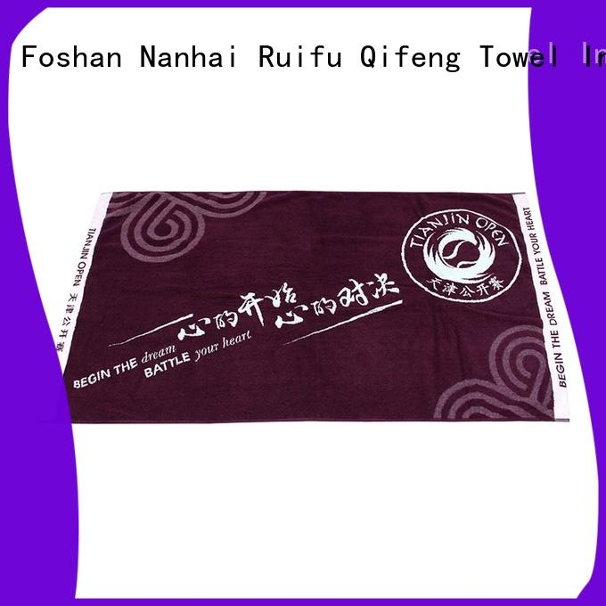 Ruifu Qifeng gym quick dry towels on sale for club