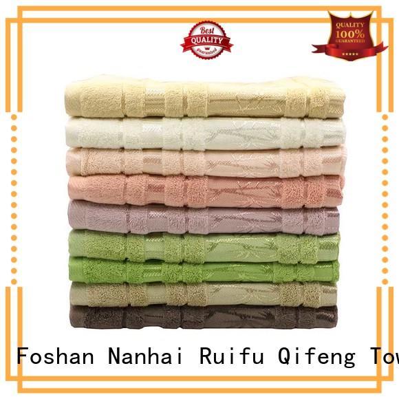 Ruifu Qifeng monogrammed shower towel supplier for beach