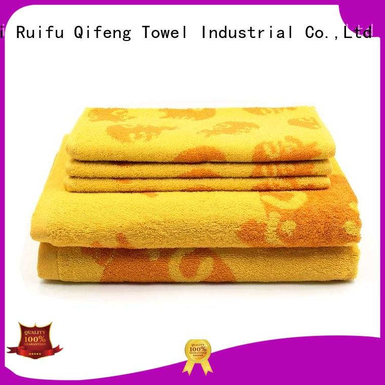 Ruifu Qifeng customized bathroom towel sets on sale for hospital