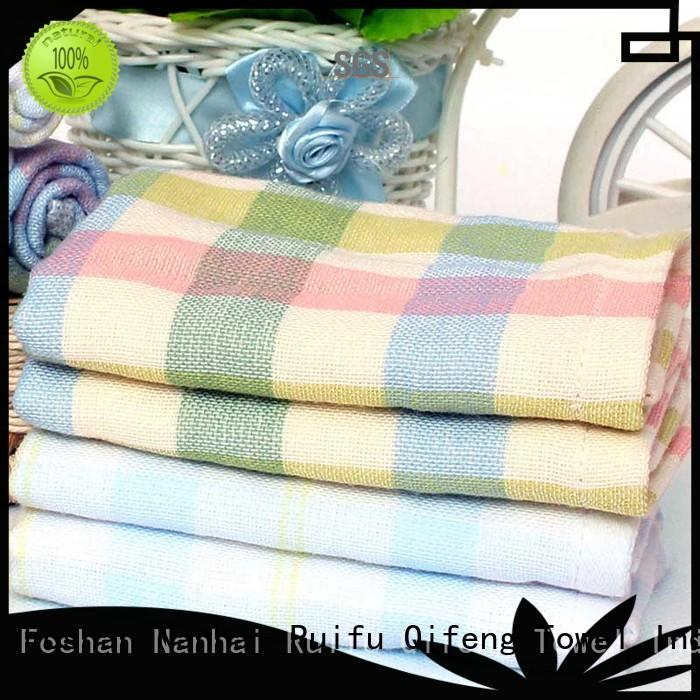 Ruifu Qifeng qf010f457 personalized baby towels design for kindergarden