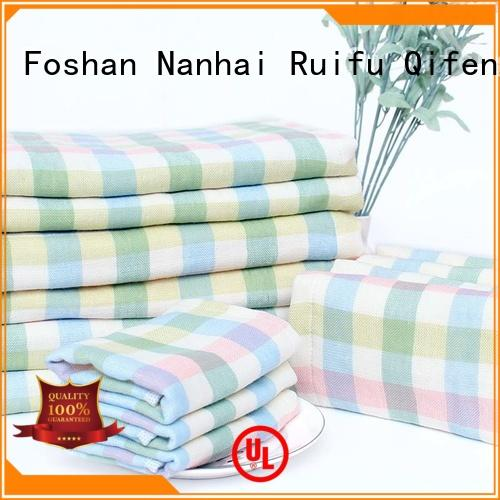 Ruifu Qifeng qf023d1013 baby hooded bath towel design for hotel