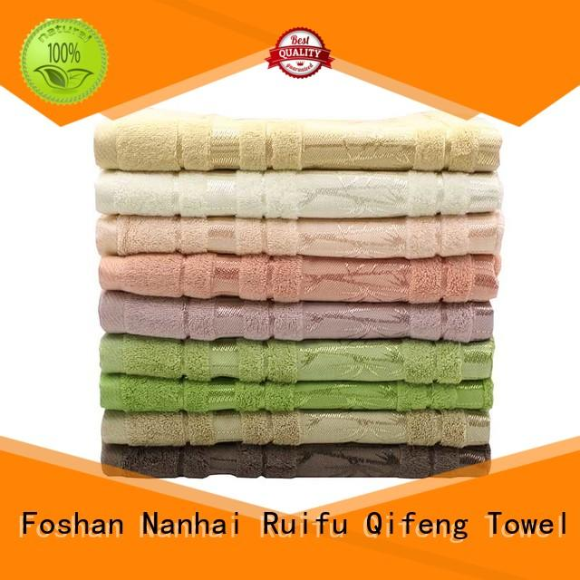 Ruifu Qifeng 100 best quality bath towels sets for hospital