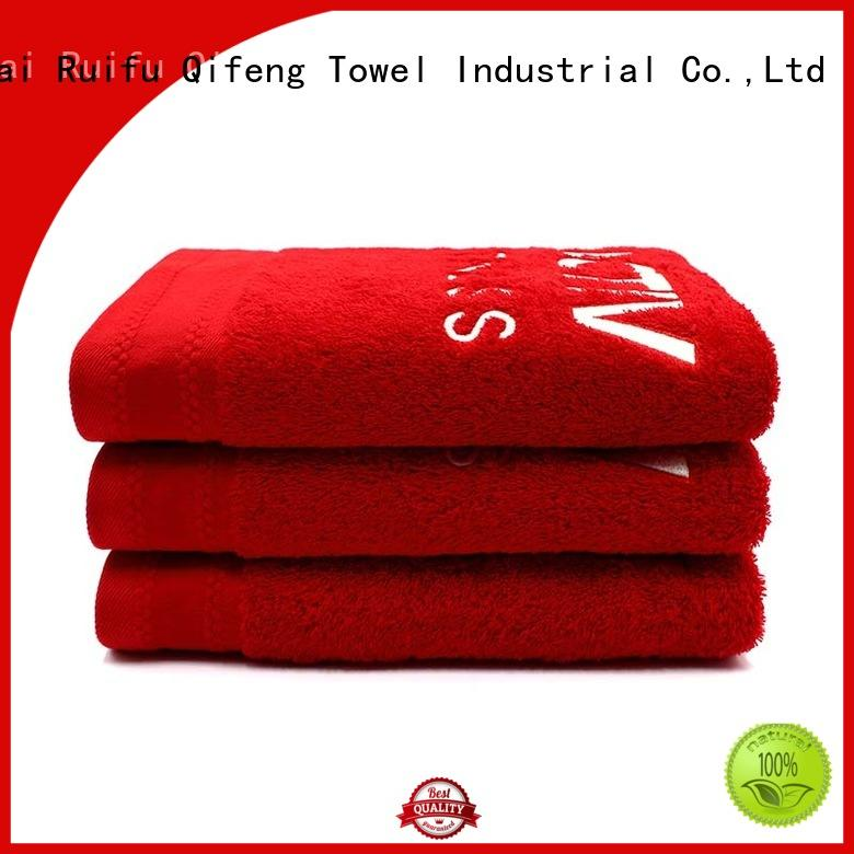 Ruifu Qifeng dyed best bath towels online for restaurant