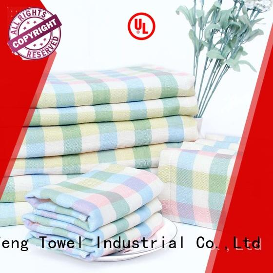 Ruifu Qifeng qf022b828 toddler bath towels design for kindergarden