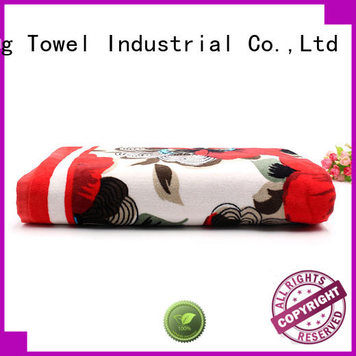 velour thick beach towels wholesale for home Ruifu Qifeng