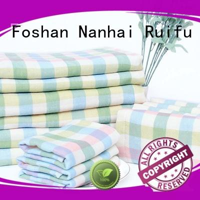 comfortable soft baby towels qf023d1013 promotion for hospital