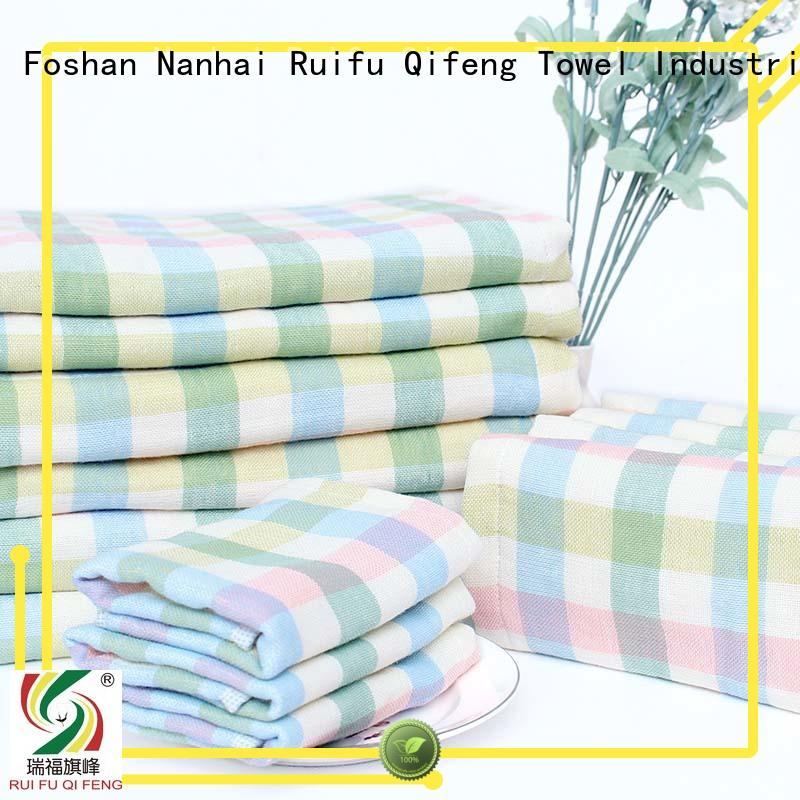 newborn baby towels online towel for kindergarden Ruifu Qifeng