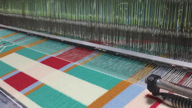 Weaving yarn dyed jacquard (Multi- color)