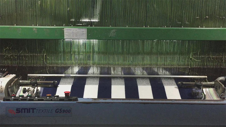 Weaving stripe towel (wide stripe)1