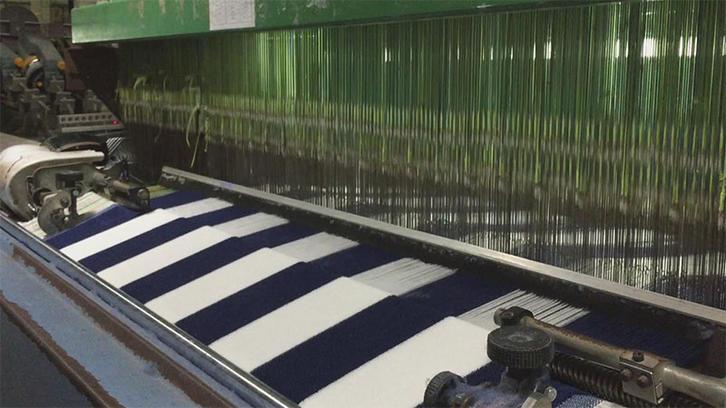 Weaving stripe towel (wide stripe)2