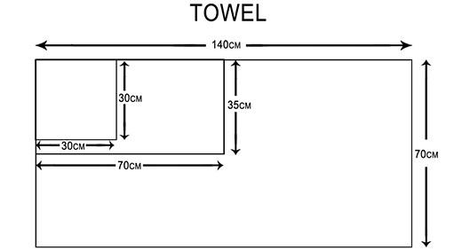 soft shower towel 100 factory price for hospital-4