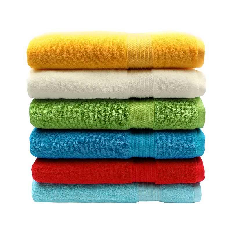100% Cotton Dobby Bath Towel - QF-008(D1219)