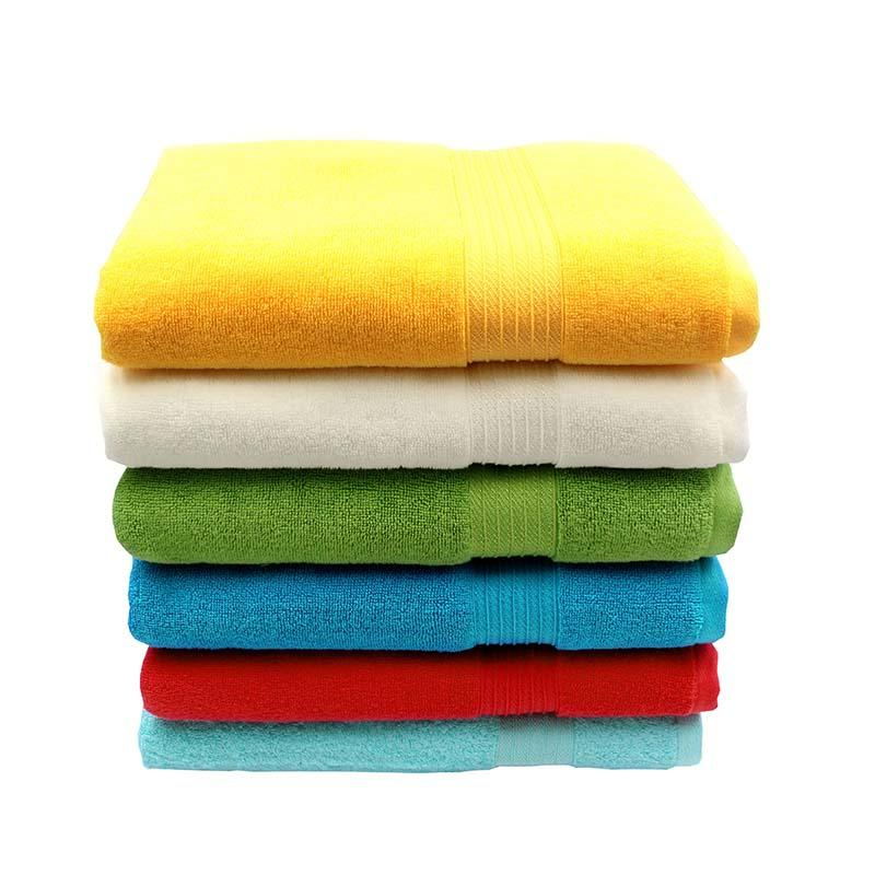 100% Cotton Dobby Bath Towel - QF-008(D1219)