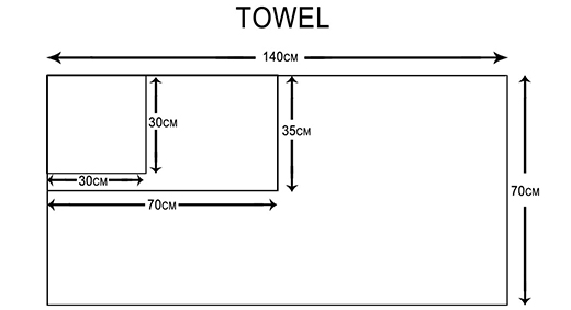 Ruifu Qifeng good quality shower towel supplier for restaurant-4