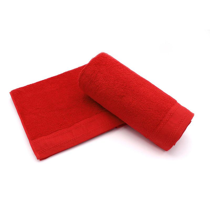 100% Cotton Plain Dyed Terry Beach Towel - QF-001(D1180)