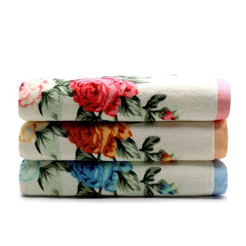 4Pack Custom Thick Premium Printed Towel Set