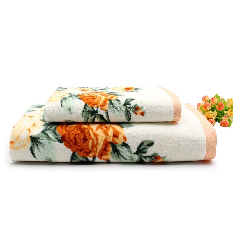 4Pack Custom Thick Premium Printed Towel Set