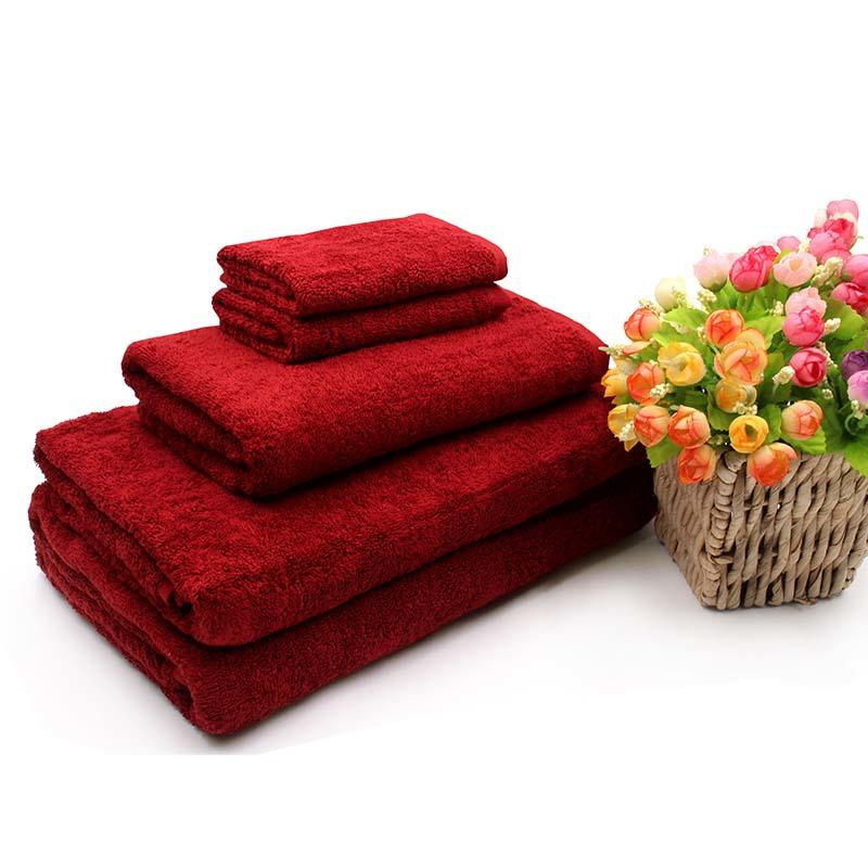 OEM Logo Thickness Luxury Cotton Hotel Towel Set