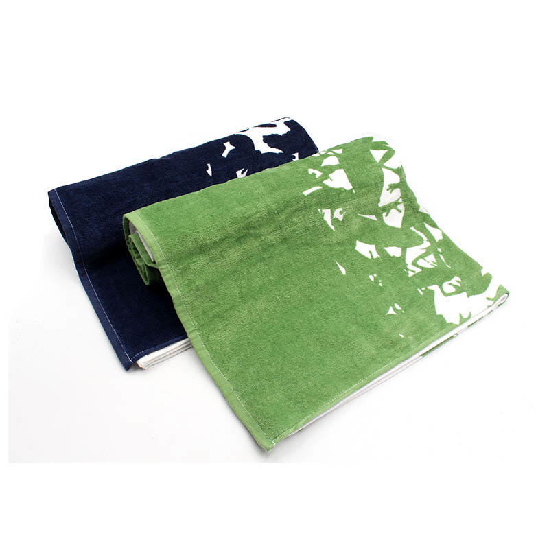 100% Cotton Printing Bath Towel - QF-007