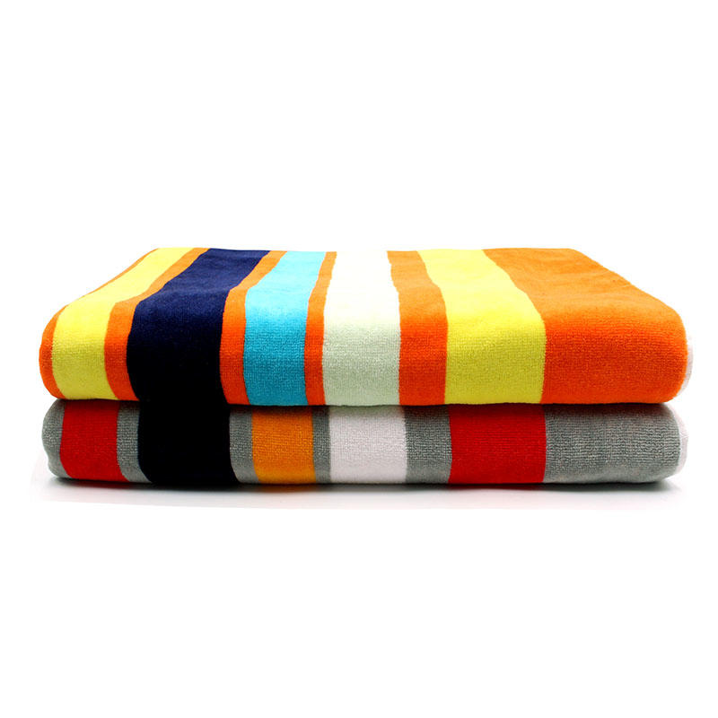 100% Cotton Yarn Dyed Jacquard Bath Towel - QF-006(D1057)