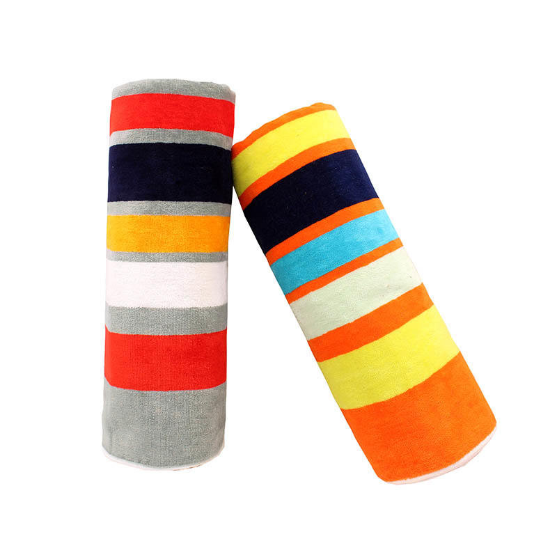 100% Cotton Yarn Dyed Jacquard Bath Towel - QF-006(D1057)