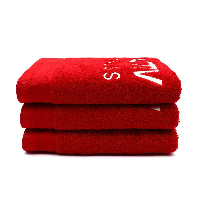 100% Cotton Plain Dyed Terry Bath Towel - QF-005(D1116)
