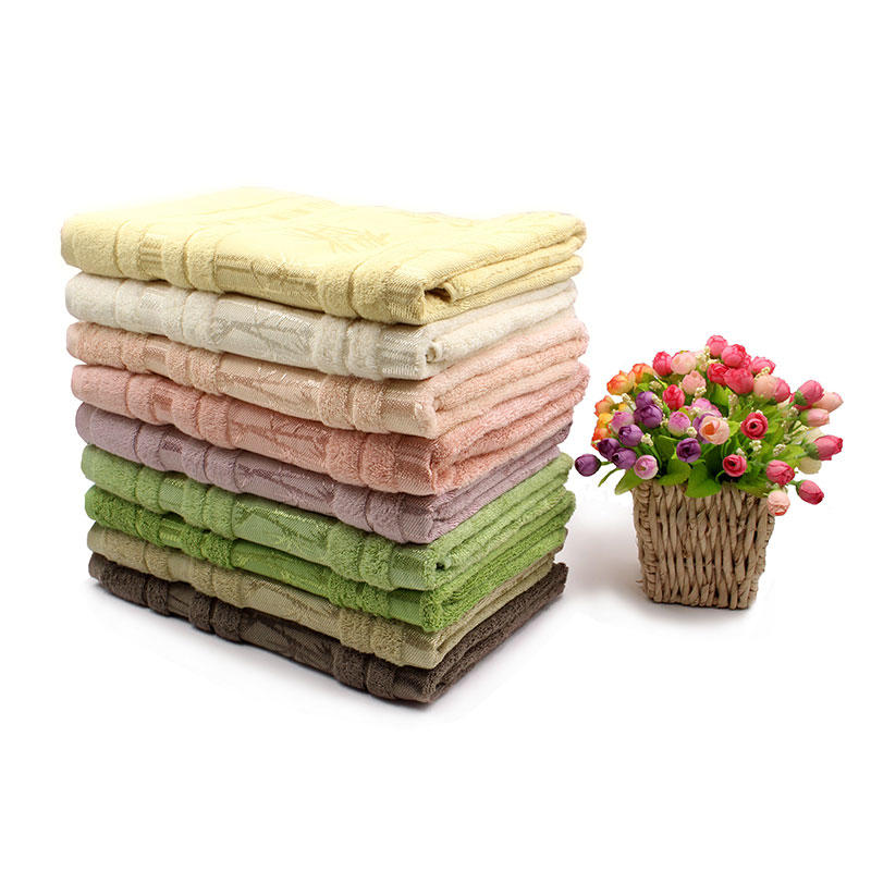 Bamboo Fiber Plain Dyed Towel