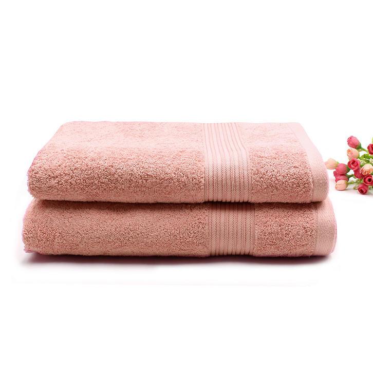 100% Cotton Plain Dyed Towel