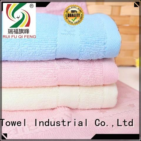 Ruifu Qifeng comfortable baby hooded bath towel manufacturer for hospital