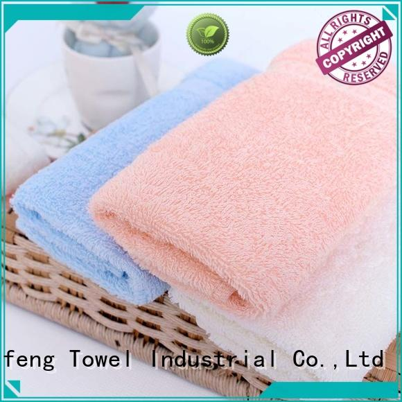Ruifu Qifeng towels soft baby towels design for home