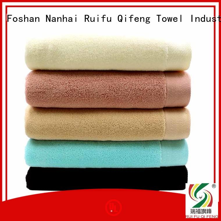 Ruifu Qifeng cotton quick dry towels sets for club