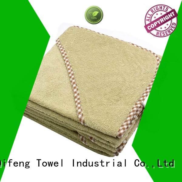 Ruifu Qifeng children newborn baby towel design for kindergarden