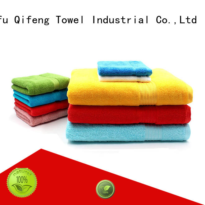 Ruifu Qifeng organic towel set series supplier for club