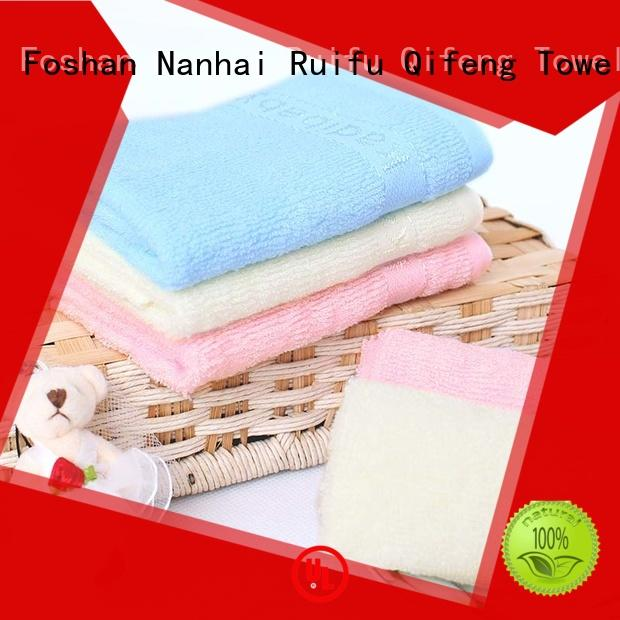 comfortable baby cotton towels supplier for home