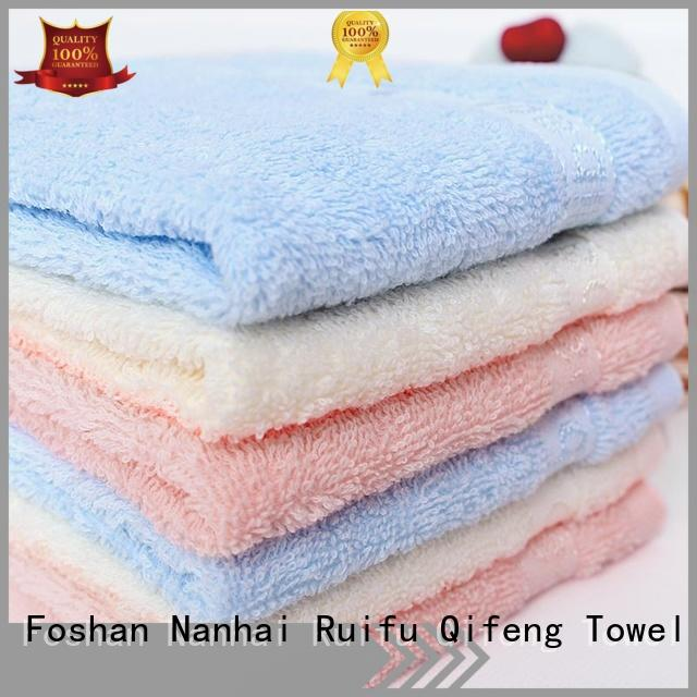 Ruifu Qifeng customized baby hooded towel towel for kindergarden