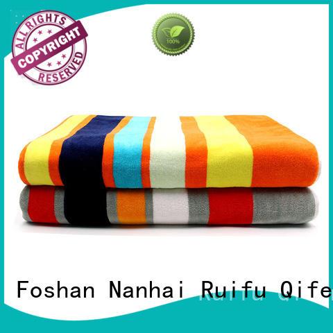 Ruifu Qifeng good quality cotton bath towel supplier for club