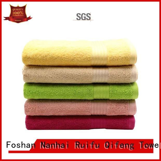 professional cotton beach towels wholesale for beach Ruifu Qifeng