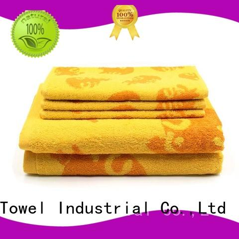 Ruifu Qifeng 4pack bamboo towel set online for hotel