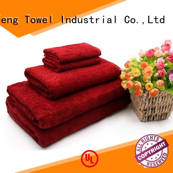monogrammed bamboo towel set customized supplier for hospital